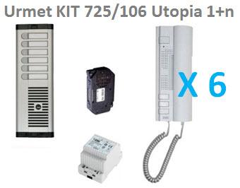 Urmet KIT 725/106 Utopia 1+n