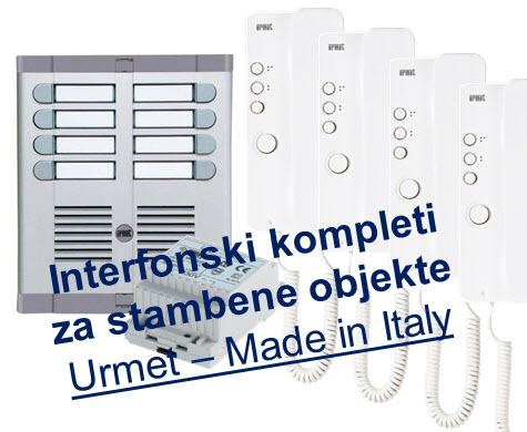 Interfonski kompleti za zgrade