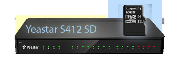 Yeastar S412 SD VoIP PBX
