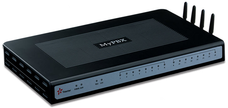 IP telefonska centrala MyPBX Standard V4