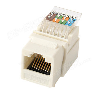 Modul RJ45 UTP Cat. 5e Toolless