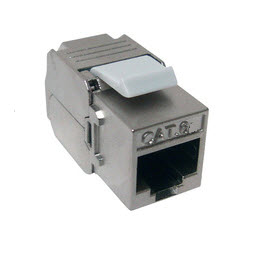 Modul RJ45 STP Cat. 6A Toolless