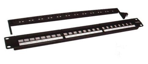 Patch panel 24P kat. 6 UTP Toolless