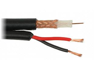 Kabl RG59 + 2 x 0,75 (crni)