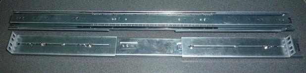 Klizne šine 1U 800mm