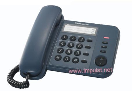 Panasonic telefon KX-TS520 Blue
