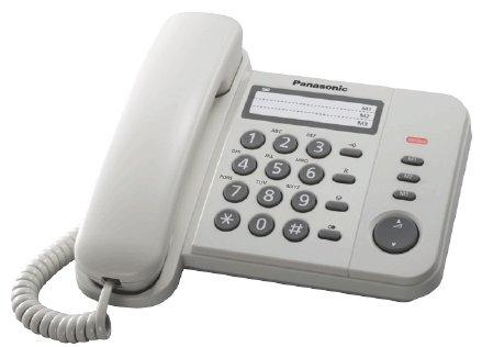 Panasonic telefon KX-TS520 White