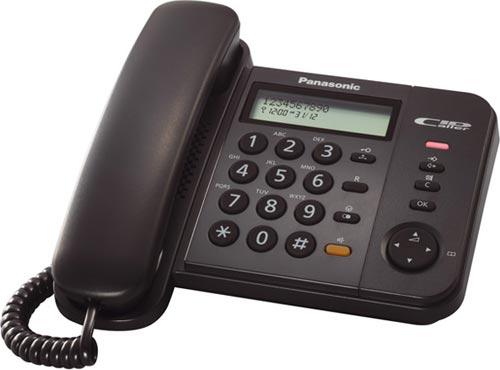 Panasonic telefon KX-TS580 Black