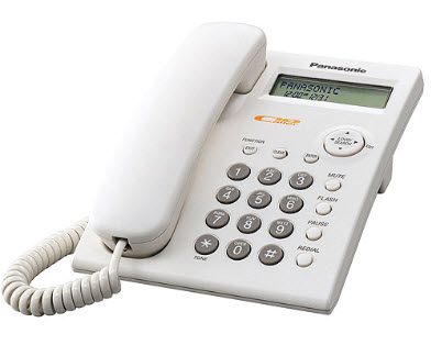Panasonic telefon KX-TSC11 White