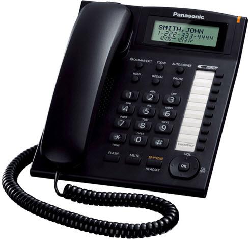 Panasonic telefon KX-TS880 Black