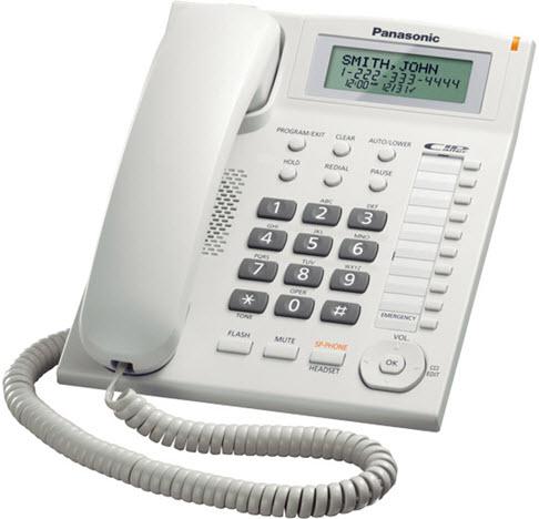 Panasonic telefon KX-TS880 White